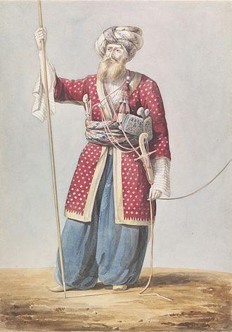 Mamluk - A Mamluk nobleman from Aleppo, 19th century