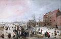 A Scene on the Ice near a Town.jpg