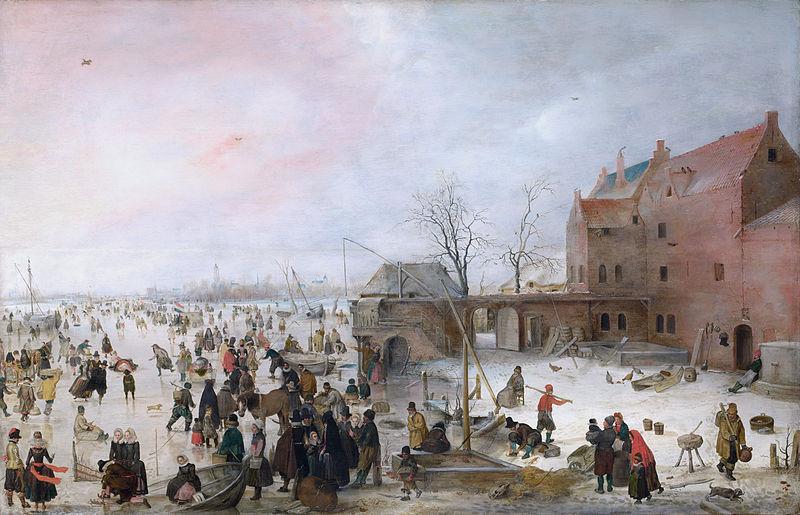 Attēls:A Scene on the Ice near a Town.jpg