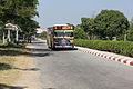 A Yangon Adipadi Bus going Dagon University.JPG