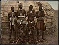 A Zulu and his wives, South Africa LCCN2017657661.jpg