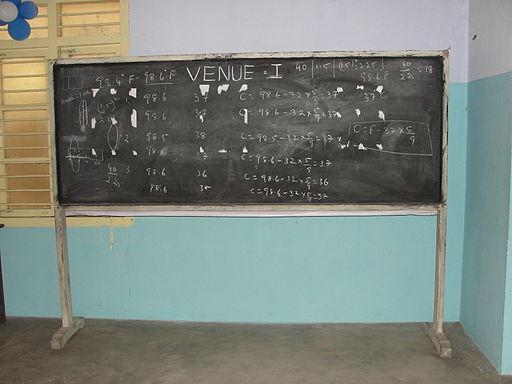 A aesthetic blackboard