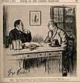 A doctor advising a patient to have all his teeth removed; t Wellcome V0011544.jpg