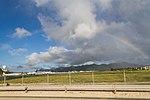A full rainbow at St Martin Airport (8447622147).jpg