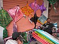 A kite seller say sales are down this year. - panoramio.jpg