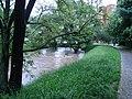 A patak a hidat nyaldossa - panoramio.jpg
