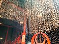 A wide variety of decorations are used at Durga Puja pandals in Kolkata.jpg