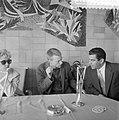 Aankomst Gerry Mulligan op Schiphol, Bestanddeelnr 908-6012.jpg