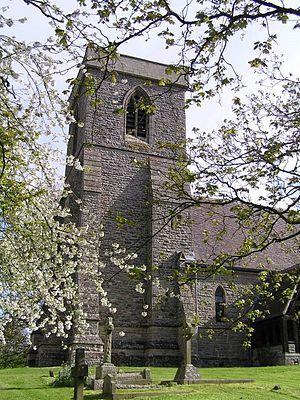 Abberton, Worcestershire - Image: Abberton Church