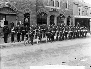 Abergele volunteers 1897?