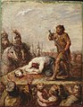 Abraham Diepenbeeck - Martyrdom of St. Catherine (^) - M.Ob.1482 - National Museum in Warsaw.jpg