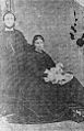 Abraham Matthews with his wife Gwenllian and their first child.jpg