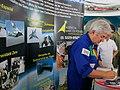 Academia da força Aérea (AFA) em Pirassununga. O primeiro e único brasileiro a ir para o espaço, o astronauta Marcos Pontes foi ao espaço na nave Soyuz TMA-8 no dia 29 de - panoramio.jpg