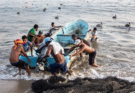 Acapulco fishermen