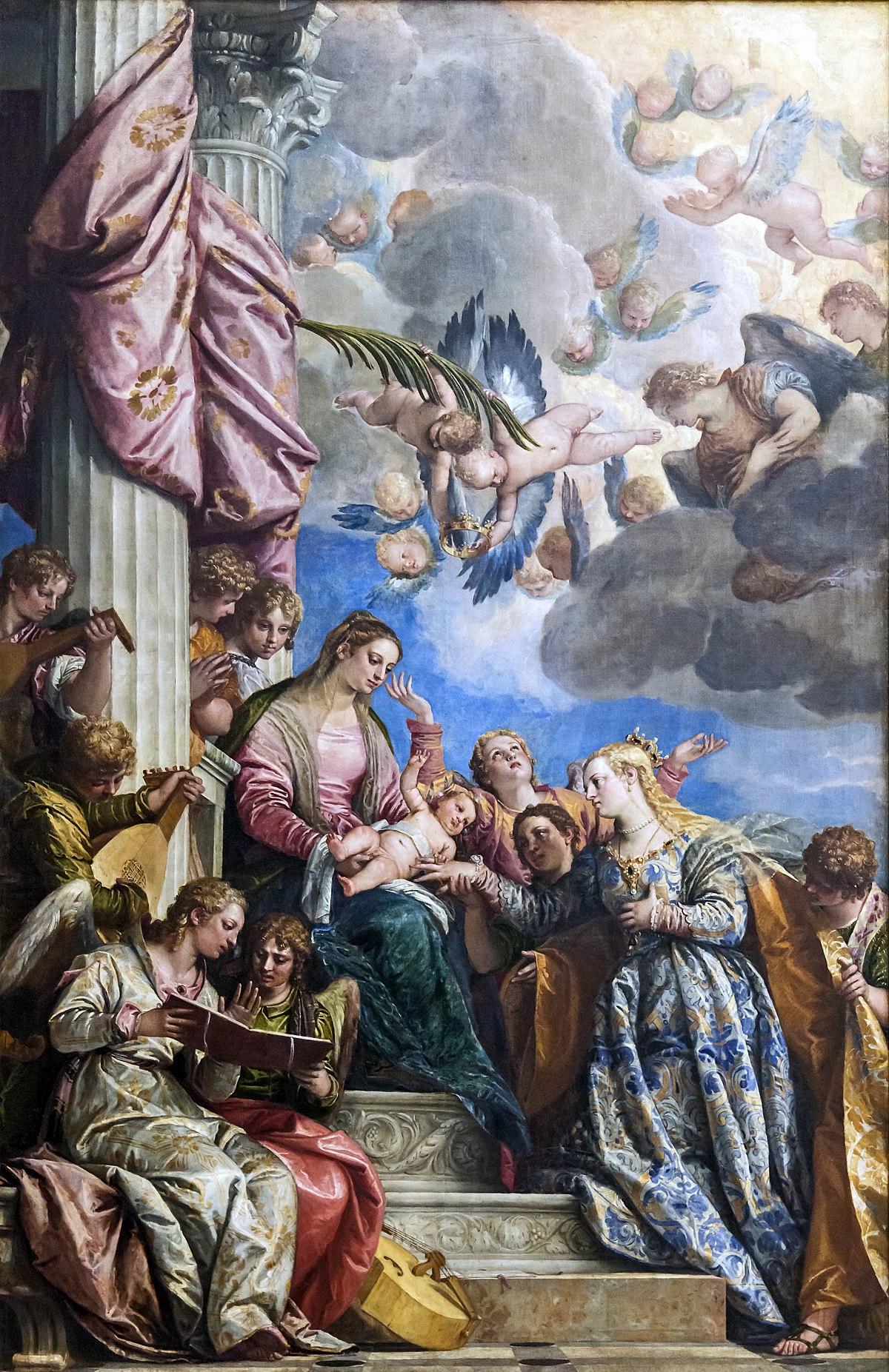 Le mariage mystique de sainte catherine v ron se wikip dia for Les jardins de catherine