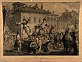 Accusing the anointers in the great plague of Milan in 1630; Wellcome V0010581.jpg