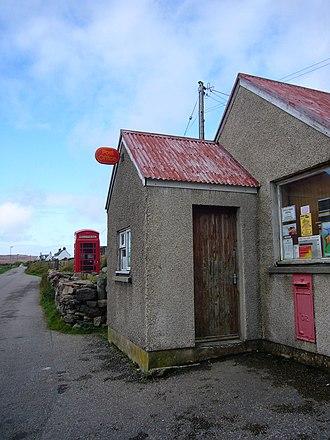 Achiltibuie - Image: Achiltibuie post office