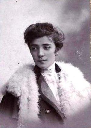 Ilona Aczél - Ilona Aczél (circa 1900)