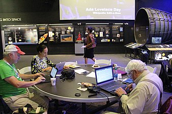 Ada Lovelace Day Edit-a-thon at Smithsonian National Air and Space Museum 1905.jpg
