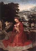 Adriaen Isenbrant - Rest during the Flight to Egypt - WGA11875.jpg