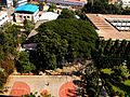 Aerial view of basketball court, Christ University, Bangalore.jpg
