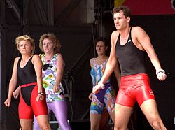 Aerobic exercise - public demonstration05.jpg