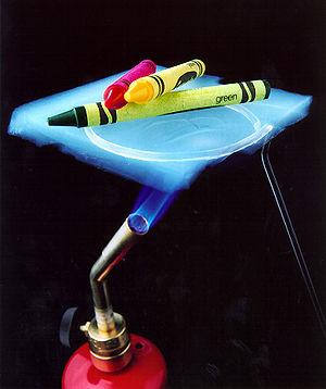 Aerogel crayons