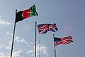 Afghan, British and American Flags MOD 45151539.jpg