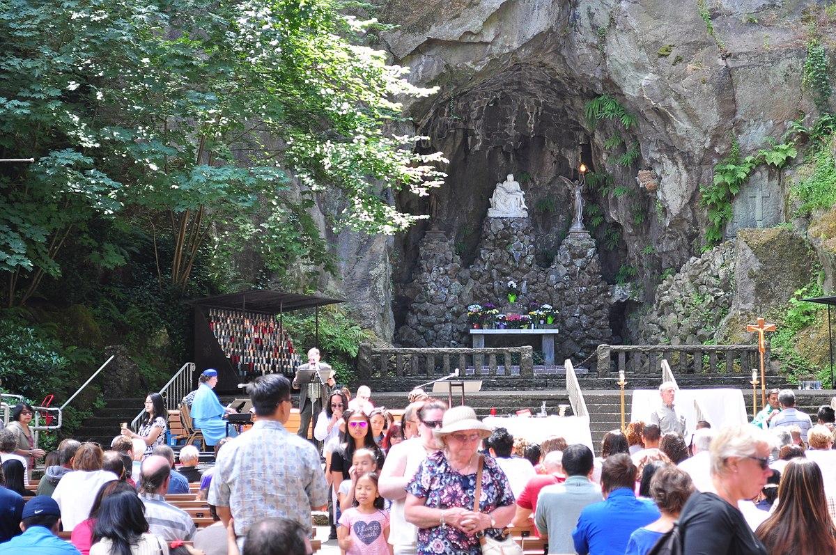 The Grotto Portland Oregon Wikimedia Commons