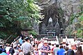 After Mass on the plaza of The Grotto (Portland, Oregon) 01.jpg