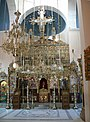 Agia Triada Klosterkirche - Innenraum Ikonostase 1.jpg