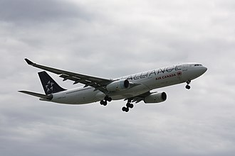Star Alliance - Air Canada A330 painted Star Alliance livery