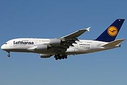 Airbus A380-800 der Lufthansa