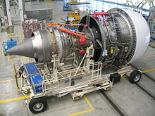 Airbus Lagardère - Trent 900 engine MSN100 (6).JPG