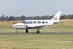 Aircraft Fleet Today (VH-ATP) Piper PA-31-350 Navajo Chieftain taxiing at Temora Airport.jpg