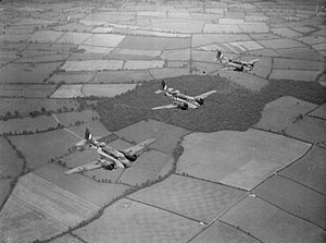 Airspeed Oxford - A trio of Oxfords flying in formation