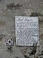 Aiud Citadel 2011 - Coopers Tower Sign.jpg