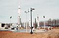 Alabama Space and Rocket Center Rocket Garden 1970.jpg