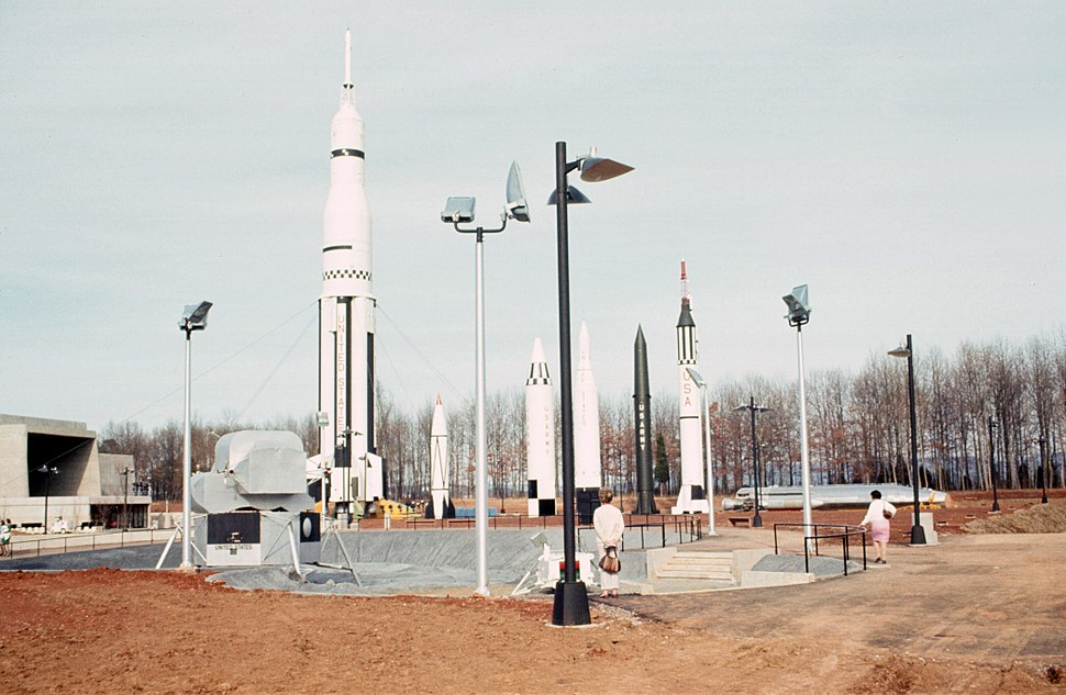 Alabama Space and Rocket Center Rocket Garden 1970