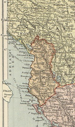 The Principality of Albania in 1920