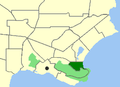 Albany-Middleton Beach map.png