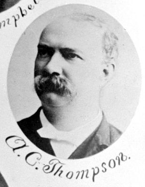 Albert C. Thompson - c. 1887
