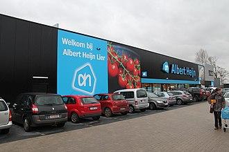 Albert Heijn - Albert Heijn store in Lier, Belgium.