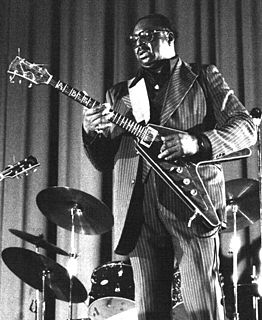 Albert King American blues guitarist and singer