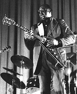 Albert King American blues guitarist, singer and songwriter