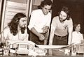 Albert Verrecchia with Alan Sorrenti and Jean-Luc Ponty.jpg