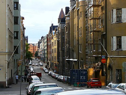 How to get to Albertinkatu with public transit - About the place