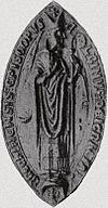 Bishop Albin's seal.