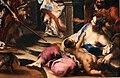 Alessandro magnasco, teodosio scacciato dalla chiesa da sant'ambrogio, 1700-10 ca. 04.jpg