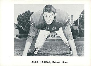 Alex Karras American football player, announcer and actor